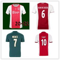 Wholesale quality jerseys resale online - Top Quality Ajax Black Football Shirt Ajax Jersey Away Football Shirt Custom KLAASSEN NOURI Football Uniform