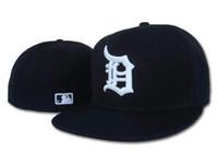 chapeaux à vendre achat en gros de-2019 Top Sale chapeaux sunhat Detroit chapeau casquette de Baseball Baseball Brodé Équipe Équipe Bord Bord Adulte Baseball Taille Cap