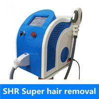 Wholesale hair home machine online - opt shr machine ipl skin rejuvenation opt skin treatment machine fast hair removal acne treatment for home use