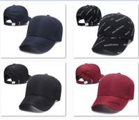 vizör kovboy şapkası toptan satış-BB Tasarım Baba Şapkalar Beyefendi Beyzbol Şapkaları Mektup Baskı Golf Rahat Top Erkekler Kovboy Visor DF7P01 Için Caps