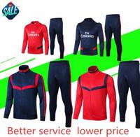 uniformes de ropa de futbol al por mayor-2019/20 más nuevo rsen Chándal de fútbol camisetas de fútbol uniformes de chándal ropa de entrenamiento deportivo aren traje de entrenamiento