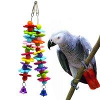 gebrauchte spielwaren großhandel-Papagei Hand nehmen Claw Down Paw Second Nibbeln kleine Glocke, Außenhandel Spielzeug zu klettern