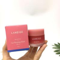 cosméticos hidratantes venda por atacado-Melhor qualidade!! Laneige Cuidados Especiais Lip Sleeping Máscara Hidratante Anti-Envelhecimento Anti-Rugas LZ Lip Care cosméticos