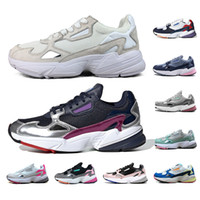 whosale schuhe groihandel-whosale adidas Falcon Laufschuhe für Männer Frauen Sliver MULTIPLE COLORS Watermelon Triple weiß Sport Walking Sneaker Herren Trainer 36-45