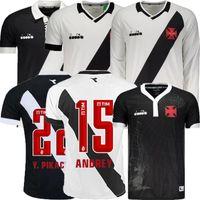 ingrosso migliori maglie squadra di calcio-la migliore vendita MAXI 19 20 Vasco da Gama Soccer Maglie manica lunga A.RIOS PAULINHO FABIANO MURIQ 2019 2020 Brazil club Football Shirt