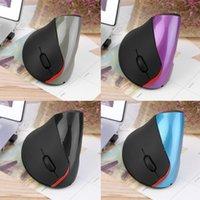 mouse ergonômico vertical sem fio venda por atacado-Sem Fio 2.4G Ergonômico Vertical Óptico USB Mouse 5D Mouse Óptico Gamer Ratos Gaming Para PC Laptop Velocidade Ajustável