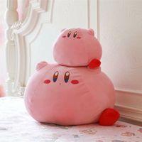 kirby doldurulmuş oyuncaklar toptan satış-Yeni Oyun Kirby Macera Kirby Peluş Oyuncak Yumuşak Bebek Büyük Doldurulmuş Hayvanlar Oyuncaklar Çocuk Doğum Günü Hediyesi Için Ev Dekor
