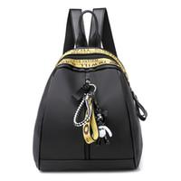 mode rucksäcke leicht großhandel-2019 neue designer frauen leichte bequeme mode rucksack handtasche brieftasche schulter reise aufbewahrungstasche mädchen schultaschen weiblich