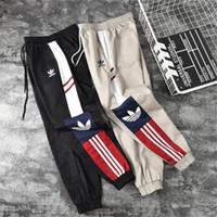 marcas de streetwear para hombre al por mayor-Hombres de diseno cargo de las bragas Hip Hop deporte de los hombres Streetwear Sport Marca chándal pantalones de diseñador de las mujeres pantalones casuales pantalones de las bragas del tamaño S-2XL