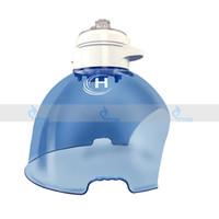 mavi led ışık yüz toptan satış-3 Renkler PDT LED Terapi Yüz Maskesi Kırmızı Mavi LED Işık Terapi Makinesi ile Oksijen Hidrojen Cilt Gençleştirme Su Kaynağı Akne Kaldırma