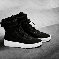 Wholesale justin boots for sale - Group buy Hot Sale ts Justin Bieber Boots FOG Top Quality Genuine Leather Boot Men FOG Botas new