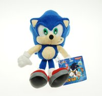 Wholesale sonic movie toys for sale - Group buy 23cm Sonic Movies TV Game Plush Doll Toys