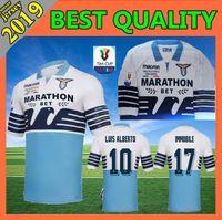 12432a1471c Wholesale italian jersey resale online - 18 Lazio Finale Coppa Italia soccer  jersey Italian Super Cup