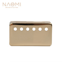 NAOMI Metal Humbucker Pickup Cover 50mm For LP Style Electric Guitar Parts & Accessories Golden Color New