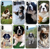 Wholesale iphone 5c clear edge case online – custom TongTrade St Bernard Muzzle Dog Puppy Case For iPhone Pro Max X XS XR s s c SE Galaxy S6 S7 Edge Huawei P Smart Xiaomi Pro Case