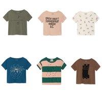 ingrosso bobo sceglie le ragazze-T-shirt per bambini 2019 Estate Bobo Choses Marca Ragazzi Ragazze T-shirt a manica corta per bambini Vestiti animali del fumetto Tops per bambini