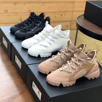Wholesale pink flower shoes resale online - Women Men Connect Sneakers Shoes Grosgrain Ribbon Retro Sneakers Ladies Flowers Multicolor Neoprene Leather Party Wedding Shoes Chaussures