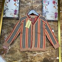 iplik hırka toptan satış-Erkek kazakları Çocuk tasarımcısı giyim Sonbahar ve kış klasik ekose tasarım kazak Tavşan kadife çekirdek iplik hırka kazak
