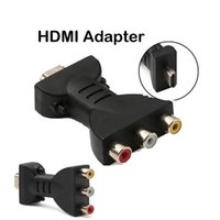 ingrosso convertitore di segnale audio-Segnale digitale HDMI a 3 RCA Video Audio Adapter AV Component Converter