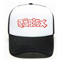 Wholesale cool hats for kids resale online - Cool Game Roblox Cartoon Kids Sun Baseball Caps Hat Hip Hop Hat Boy Girl Roblox Action Toy for Children Birthday Christmas Gifts