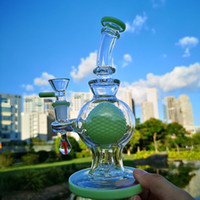 Wholesale heady ball rig for sale - Group buy New Arrival Ball Showerhead Perc Glass Bong Dab Rig Water Pipe With mm Fmale Joint Heady Glass Water Bongs Oil Rigs Bowl