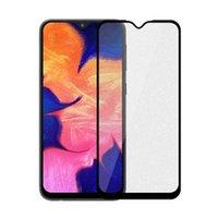 zte bildschirme großhandel-9 H Full Cover Hartglas Displayschutzfolie Für Samsung Galaxy M10 M20 M30 M40 A10 A20 A30 A40 A50 A60 A70 A80 A90 A20E A40S 800 teile / los