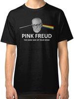 dunkelrosa hemd männer großhandel-New Pink Freud Dark Side Of Your Mom Herren T-Shirt Größe S-2XL kühle beiläufige Stolz T-Shirt Männer Unisex neue Art und Weise T-Shirt lose