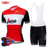 shorts uci venda por atacado-2019 UCI Ciclismo Jersey Bib Set Pro Equipe Fegafredo Bicicleta Vestuário Desgaste Da Bicicleta Roupas Ropa ciclismo Mens Maillot Curto Culotte
