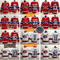 canadiens formaları toptan satış-Montreal Canadiens Formalar Hokeyi 11 Brendan Gallagher 13 Max Domi Carey Fiyat Alex Galchenyuk Shea Weber Jonathan Drouin Jesperi Kotkaniemi