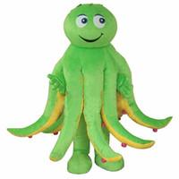 polvo de festa venda por atacado-Novo Estilo Octopus Costume Mascot Costume Holiday Party Dress Adult Frete Grátis