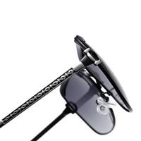 tendência de moda óculos venda por atacado-Dirigindo ao ar livre Óculos De Sol Rua Beat Espetáculos Mulheres Luz Polarizada Óculos Moda Tendência Resina Lente Marrom Vermelho Portátil 20 h C1