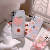 Wholesale peach iphone for sale – best NEW SPRING COLOURS PEACH SWEET AND FASHION CELL PHONE CASE FOR IPHONE PRO DIRE RESISTANT HIGH MATERIAL TPU