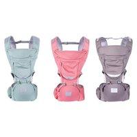 ingrosso involucri per il trasporto di fasce-Bambini infantili Porta canguri Hipseat Marsupio Impedire O-Type Leg Ergonomico Zaino Baby Wrap Sling for Travel 0-36M