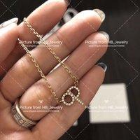 halsketten brief d großhandel-Haben Briefmarken Mode Marke Brief Designer Halskette Ohrringe für Dame Design Frauen Party Hochzeit Liebhaber Geschenk Luxus Schmuck für die Braut