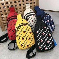 satılık erkek messenger bag toptan satış-Şampiyonlar Tasarımcı Crossbody Göğüs Çanta Bel Fanny Paketi Omuz Çantaları Erkek Kadın Çanta Messenger Paketi Seyahat Plaj Spor Çanta satış C6308
