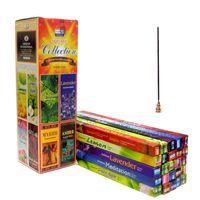 doğal aroma toptan satış-Tibet Tütsü 25 Kokuyor Hindistan Aroma Sopa Tütsü Otantik Doğal Ev Kapalı Gardırop Temiz Hava Sopa 7 adet / kutu