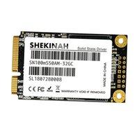 ssd katı hal toptan satış-32G MLC mSATA Dijital SSD Disk Katı Hal Sürücüsü PC Laptop için Yüksek Hız