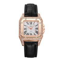 женские маленькие часы оптовых-2019 NEW Watches Women Fashion Square Small Dial Quartz Wrist Watch Elegant Ladies Casual Business Watches Clock ladies watch
