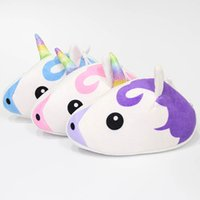 Wholesale plush cosmetic bags for sale - Group buy Unicorn Coin Purse Cartoon Mini Wallet Lady Girls Creative Zipper cosmetic bag Schoolbag Pendant Plush Storage Bag Party Favor GGA1839