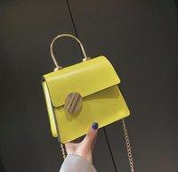 einfache kleine frau crossbody taschen groihandel-Designer Lady Mini Schultertasche Fashion Plain Simple Damen Taschen Luxus Kleine Umhängetasche Mädchen Flap Handtasche / 4