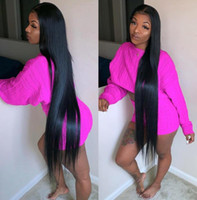 Wholesale Celebrity Wig Lace Front Wigs Silky Straight Natural Color A Grade Virgin Indian Human Hair Full Lace Wigs for Black Women