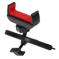 ingrosso auto accessori per telefoni cellulari-Universale auto multifunzionale 360 gradi di rotazione CD Mount Slot Phone Holder Car Styling Accessori per iphone Cell Phone