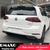spoilers traseiros para carros venda por atacado-Para Volkswagen GOLF 7 MK7 Spoiler 2014-2018 mk7.5 ADG de Alta Qualidade ABS Material Do Carro Asa Traseira Primer Cor Spoiler traseiro