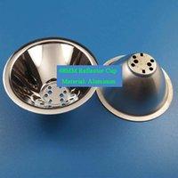 1w führte perlen großhandel-68mm LED Reflektor Tasse Aluminium Reflektor Tasse mit Montageplatte Reflektierende Konzentrat Tasse für 1W 3W LED Perlen
