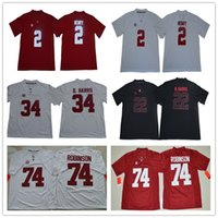 Wholesale derrick henry alabama jersey for sale - Group buy NCAA Alabama Crimson Tide Cam Robinson D harris Derrick Henry N harris Football jerseys S XL