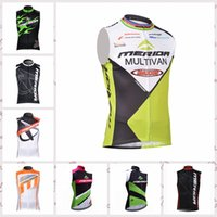 Wholesale merida cycle tops online - MERIDA team Cycling Sleeveless jersey Vest New Bike Clothing Quick Dry Wearable Breathable free delivery