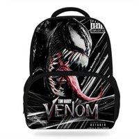 mädchen schultaschen zum verkauf groihandel-14 zoll Heißer Verkauf Film Print Bacpack Für Kinder Jungen Mädchen Venom Bag Für Kinder Schule Bookbags Studenten Lässig Taschen