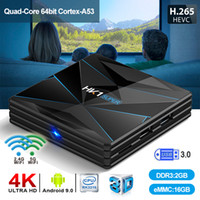 Wholesale super android quad for sale - Group buy HK1 Super Android TV BOX RK3318 GB GB Wifi G G Set Top Box better than x96 mini