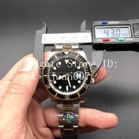 beste männer armband großhandel-2019 Basel Neue Uhr Luxusuhr 2 Ton Farbe Armband Saphirglas Automatikwerk Die Beste Qualität 43mm 126603 Luxus Männer Watche