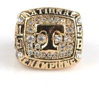 1998 ring großhandel-European American Modeschmuck 1998 Tennessee Meisterschaft Ring Fans Andenken Geburtstag Festival Geschenk